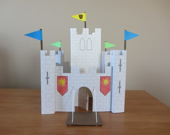 PART 2 of Paper Castle: Instant Download Template for Keep and Pennants