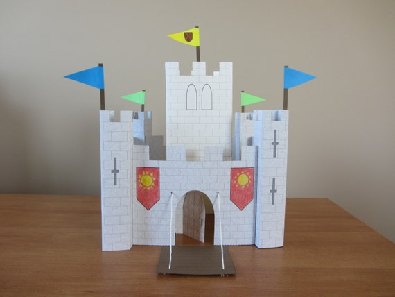 PART 2 Of Paper Castle: Instant Download Template For Keep And