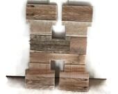 "Rustic Wedding Decor, Personalized Letter, Reclaimed Pallet Wood Letter, Rustic Home Decor, 16"" x 12"" pallet letter, large wood letter"