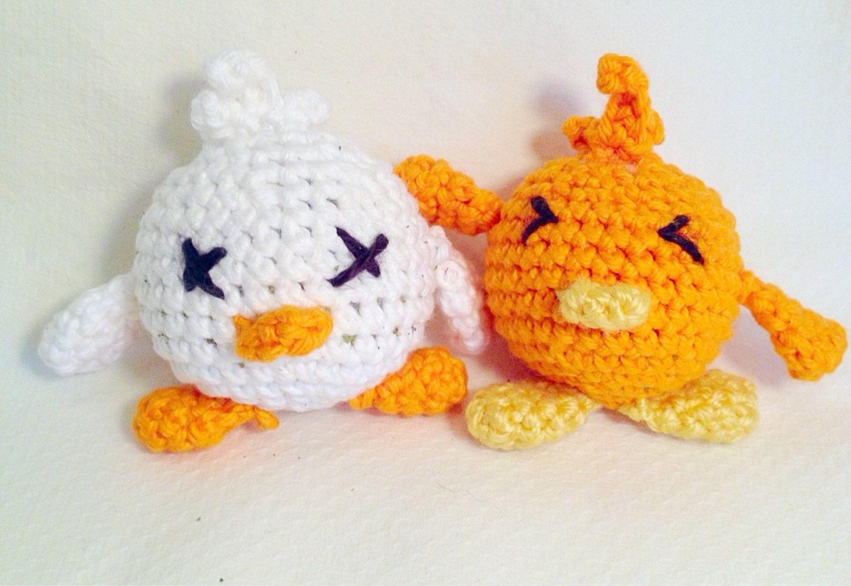 Amigurumi Cat Toys : Amigurumi duck cat toy made with organic catnip by ...