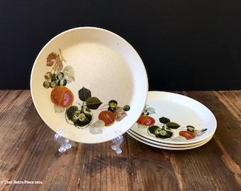 Johnson of Australia small plates, set of four