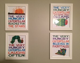 The Very Hungry Caterpillar Nursery Art