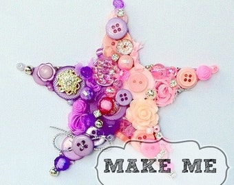 Tutorial - Button & Bling Star - Downloadable
