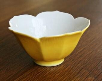 Vintage made in Japan lotus shaped bowl