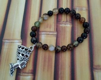 Royalty beaded bracelet