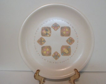"Vernon Ware Country Cousins pattern 10 1/4"" Plate"