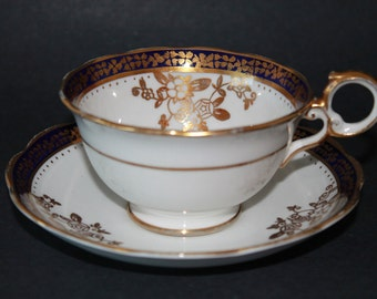 OXFORD Bone China Teacup and Saucer Set