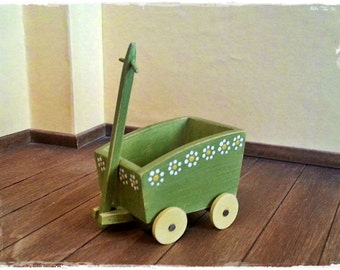 Green Wood Cart