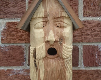 Popular items for old man face on EtsyOld Man Face Birdhouse