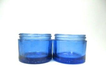 Cobalt Blue Bottles, Apothecary