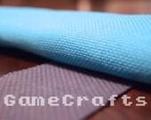 Hand dyed 14 count Aida cross stitch fabric