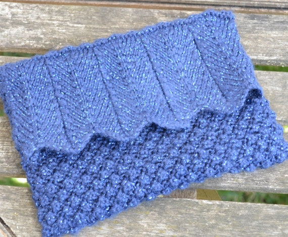 Blueberry Clutch Bag Knitting Pattern from GinxCraft on ...