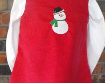 Girls Corduroy Jumper Dress, girls corduroy jumper, corduroy dress, embroidered jumper, girls embroidered dress, classic jumper