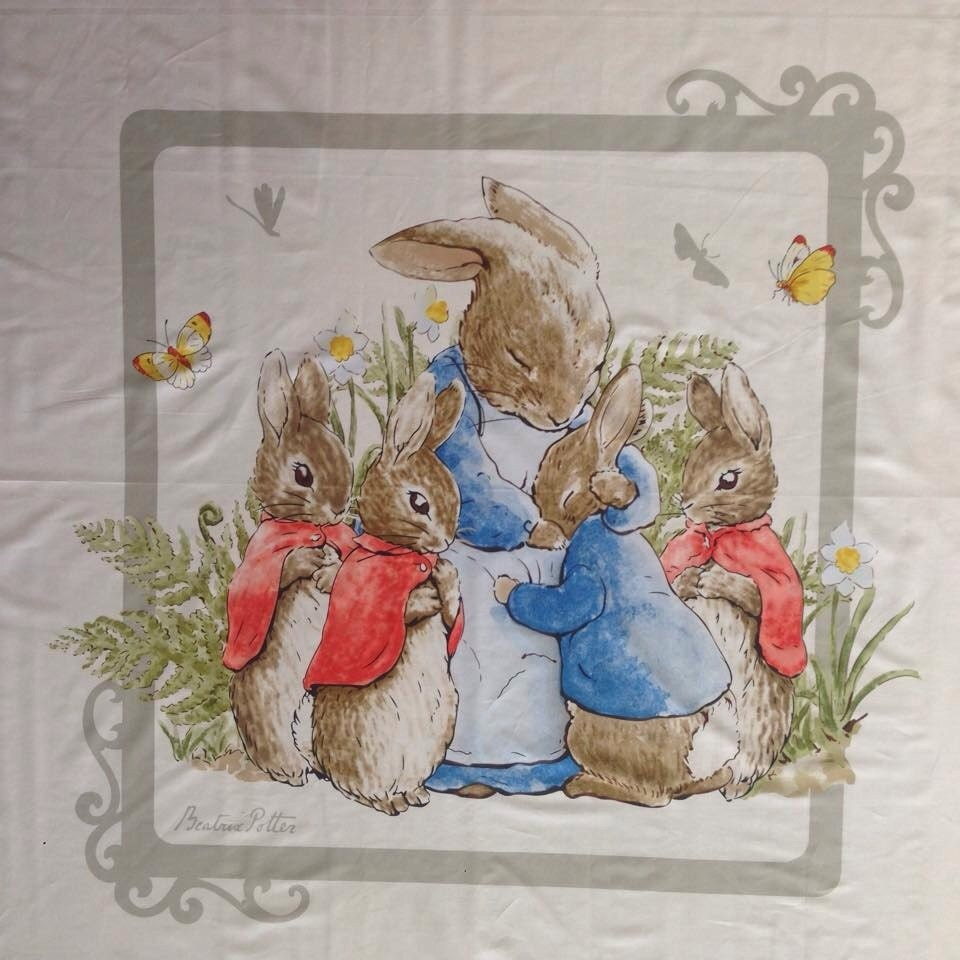 Beatrix Potter Baby Gifts Australia : Beatrix potter peter rabbit cot panel