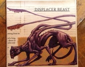 Up-cycled Displacer Beast coaster from Dungeons and Dragons Monster Manual