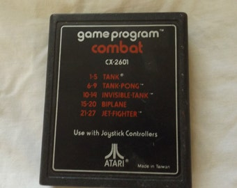 Vintage Atari 2600 Video Game - Atari Combat CX2601 CL19-27