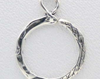 ONE Charm Holder that Opens - Crosshatch Pattern