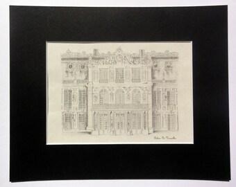 Versailles Pencil Drawing