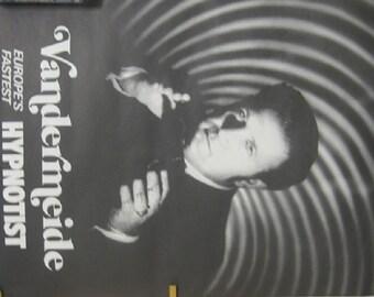 Vandermeide Hypnotist Poster