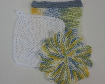 Summer Breeze Dish Cloth Set