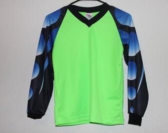 bright neon club motorcross shirt