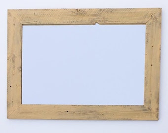 Large Barnwood Mirror (28 X 34) with Color Options