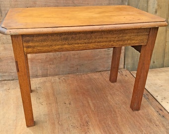 solid wooden table to be used as SIDE table or BEDSIDE TABLE (contact us for delivery quote)