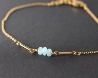 stone bracelet - minimal