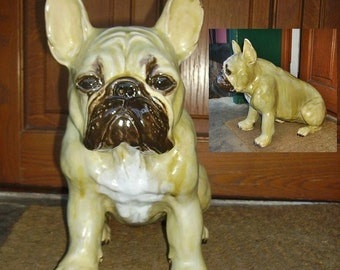 French bulldog statue full size/Westi statue full size/any other dog medium size statue by pic