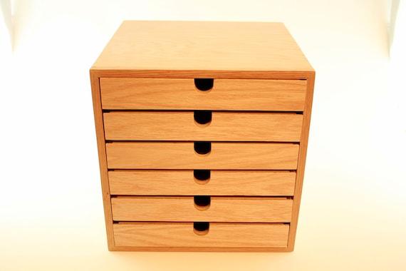 Chest of drawers handmade drawer wood knitting storage