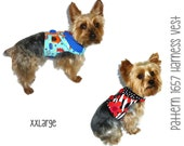 Dog Harness Vest Pattern 1657 * XXLarge * Dog Clothes Sewing Pattern * Dog Harness * Dog Vest Pattern * Dog Shirt * Dog Harness Pattern