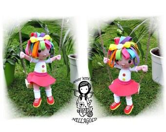 Crochet PATTERN, Crochet doll pattern, Everything is Rosie,3D, Toy, DIY Pattern 47
