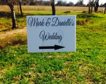 wedding yard sign wedding directional sign corrugated plastic yard signs yard signs