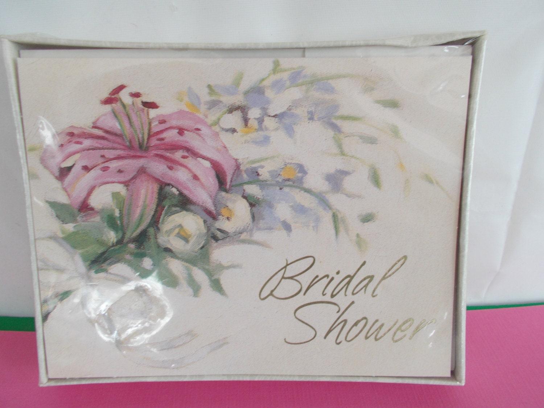 Hallmark Invitations Wedding: Vintage Hallmark Bridal Shower Invitation Cards