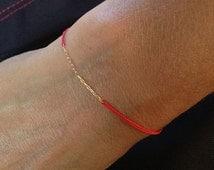 Red String Bracelet, Bendel, Kabbalah Barcelet, Israel Bracelet, Jewish Jewelry, Shop for a Cause, Do Good, Charity Bracelet