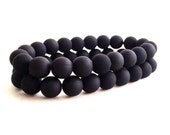 Custom Listing single black matte bracelet