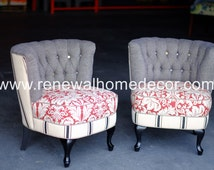 Popular Items For Barrel Chair On Etsy
