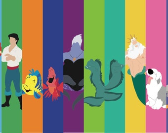 Disney Little Mermaid Poster