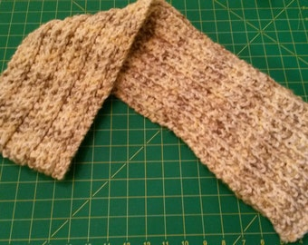 Soft, neutral colored scarf