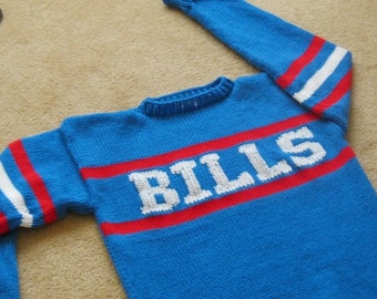 MARV LEVY Bills Sweater Revisited