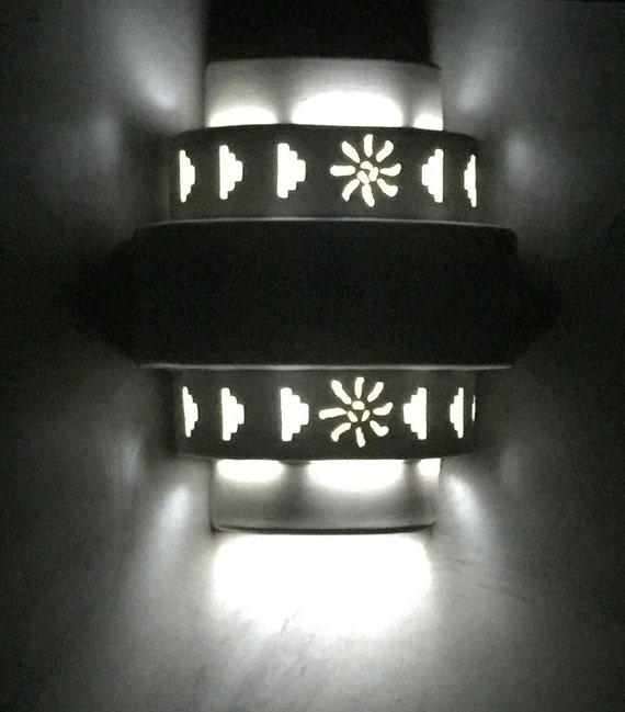 Outdoor Wall Light Made In Usa : Five tier Outdoor Wall Sconce Exterior lighting Made in NM