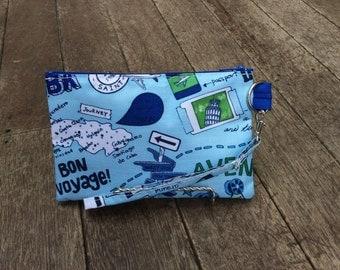 Wristlet Clutch Purse Pouch Travel Waterproof Vinyl