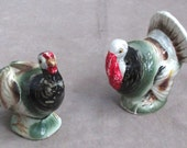 Salt & Pepper Shakers pair of Turkeys