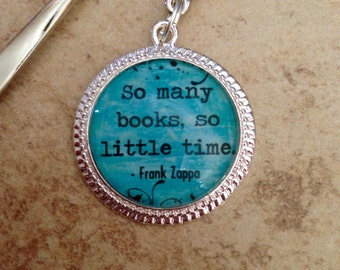 So many books, so little time bookmark
