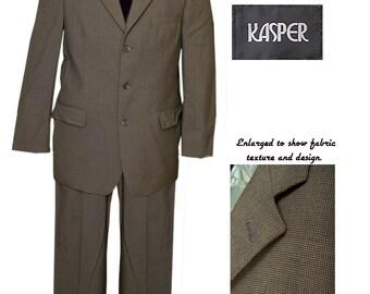 Mens 3 Button Suit / Mod Suit / Mad Men Suit / Rockabilly Suit