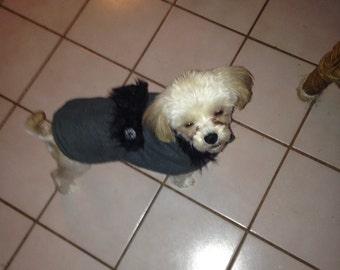Kristoff Doggie Coat/Jacket  Fleece Fur Doggie Coat