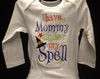 I have mommy/daddy under my spell onesie