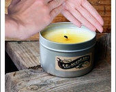 3 Pack- All Natural Body Lotion Candle (3.5 oz. Tins)