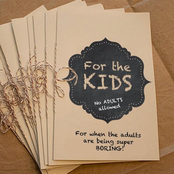 Wedding Ideas For Kids: Kids Activity Coloring Book Wedding DIY By LittlePrintsStore