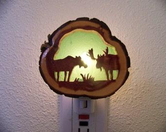 Moose nightlight